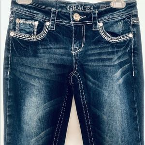 Grace Jeans - GRACE Women's Curvy Boot Cut Jeans